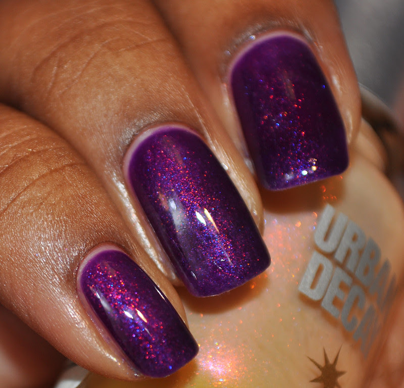 purple shimmer jelly sandwich duochrome