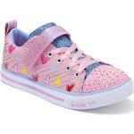 Girls' Skechers Sparkle Lite Heart Sketch Sneaker