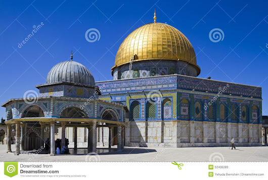 Dome Of The Rock Stock Photo - Image: 52406289