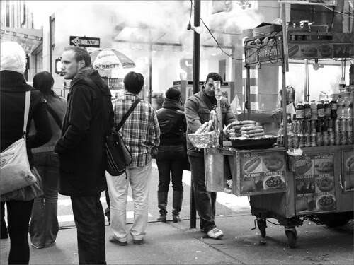 Midtown corner, NYC