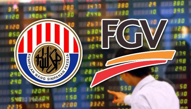 Image result for kwsp  dan saham fgv