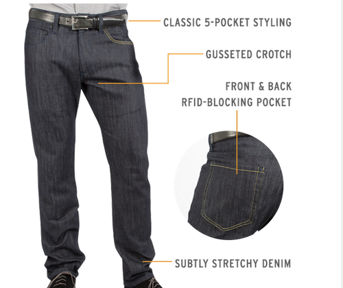 Design News - Blog - These Jeans Will Keep Hackers Out of Your Pants