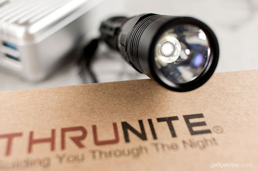 ThruNite TC12 V2 Review - Compact USB rechargeable LED flashlight