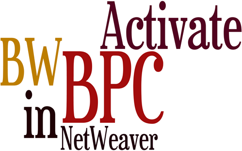 Activate SAP BPC in NetWeaver BW 7.5 Guide