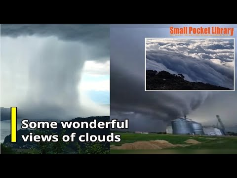 Some wonderful views of clouds