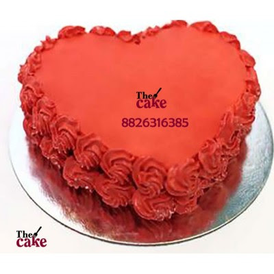 Heart Heart Shape Cake Design