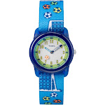 Kid's Timex Watch with Soccer Strap - Blue TW7C16500XY