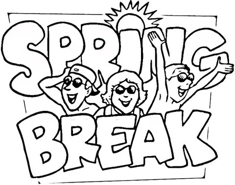 Printable Coloring Pages: Spring Coloring Pages Spring
