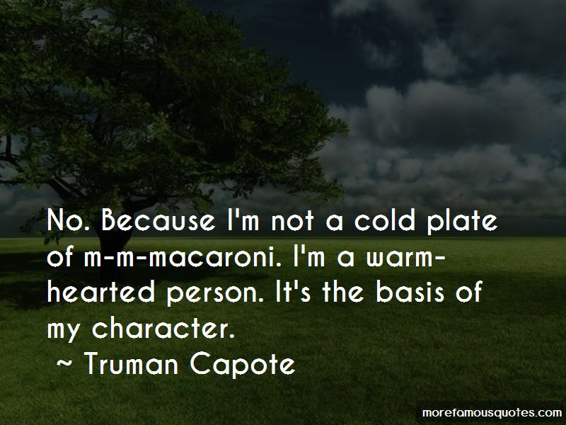 Quotes About Cold Hearted Person Top 1 Cold Hearted Person Quotes