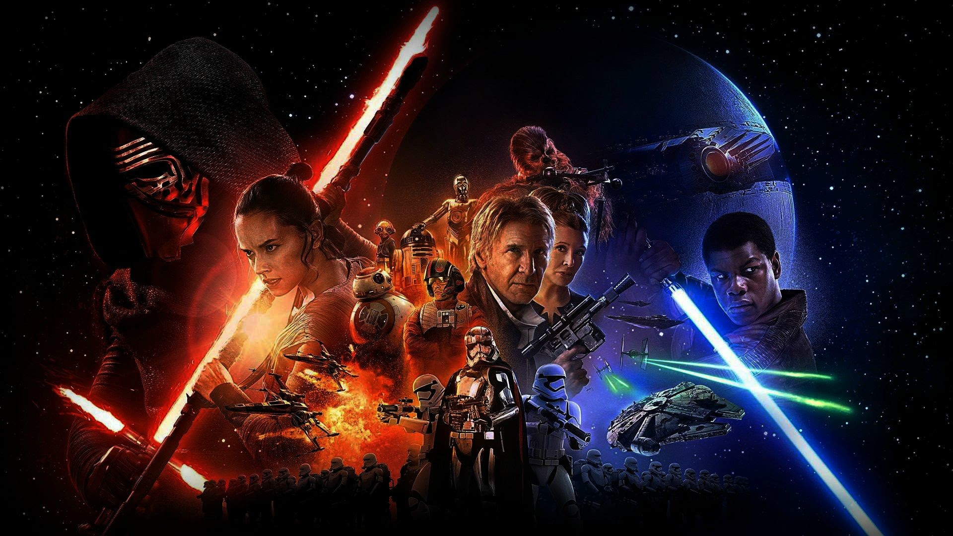 Star Wars The Force Awakens Wallpapers Hd 76 Images