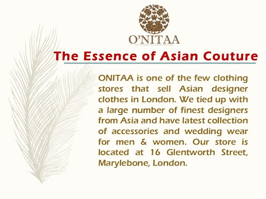 Asian Clothes Online Store London