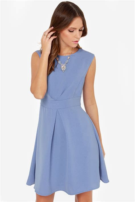 darling keeley dress periwinkle dress blue dress