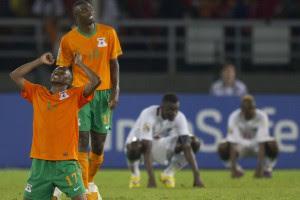 Замбия побеждает фаворита