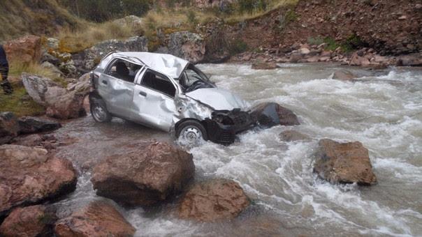 accidente río hapura cusco