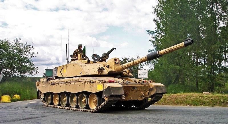 British Challenger 2, Tank Inggris