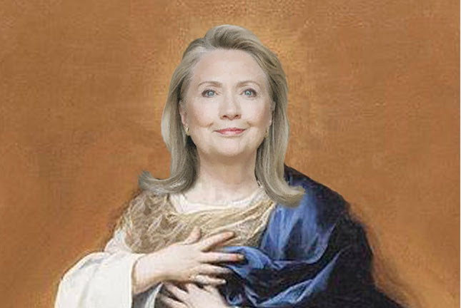 Image result for Hillary Clinton Gets Sign from God