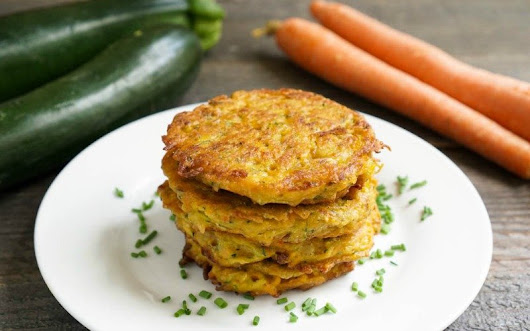 Carrot and Zucchini Fritters - The Best Easy Side Dish Recipe
