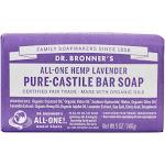 Dr. Bronners PureCastile Bar Soap Hemp Lavender 5 oz.