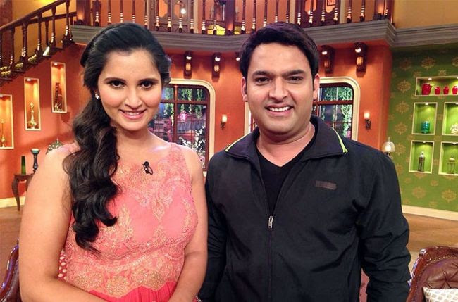 Sania Mirza at Comedy Nights With Kapil