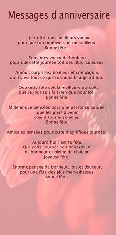 Texte Anniversaire 50 Ans Pour Une Collegue De Travail ...