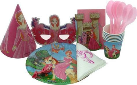 Princess Party Supplies Basic Party Pack For 6 P1PC0003593