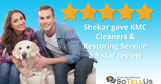 Shekar M gave KMC Cleaners & Restoring Service a 5 star review