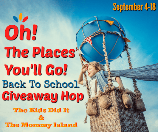 Oh! The Places You'll Go! Giveaway Hop - Lady In Read Writes
