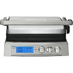 1800-Watt Griddler Deluxe Indoor Grill-Griddle-Press MA634977