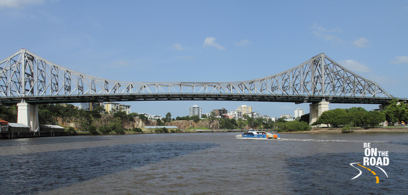Iconic story bridge of Brisbane
