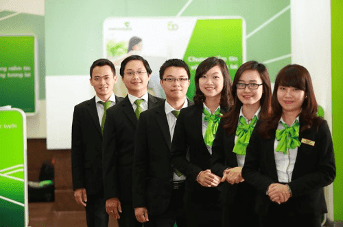 đồng phục vietcombank