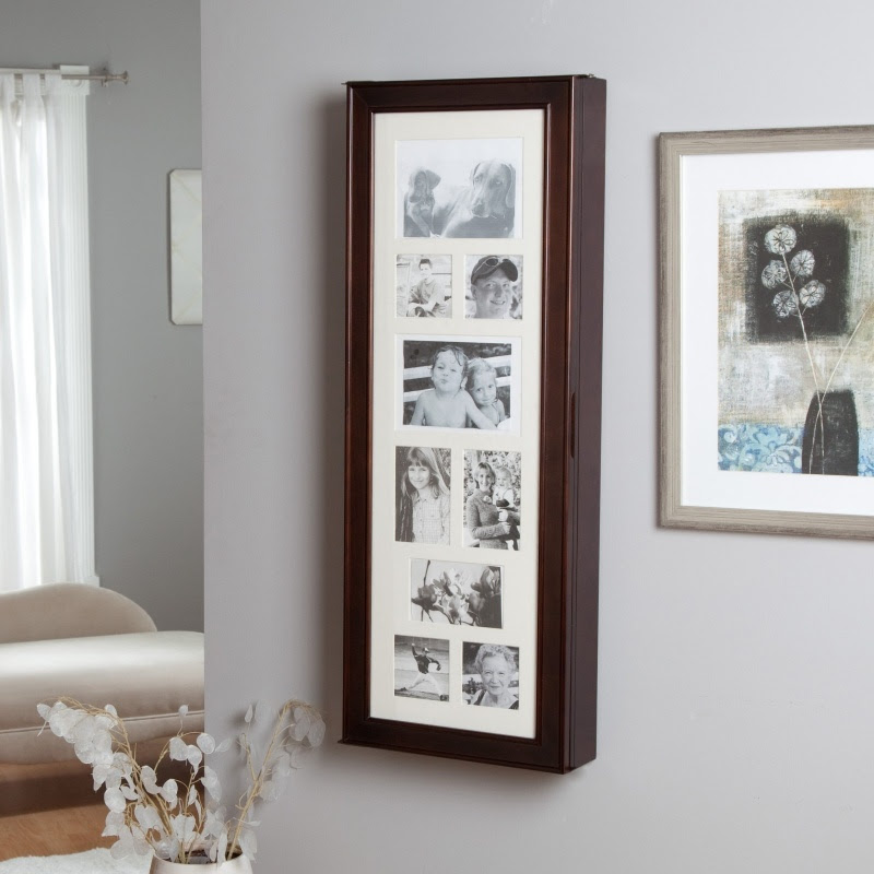 Hidden Wall Mount Jewelry Armoire | Shelterness