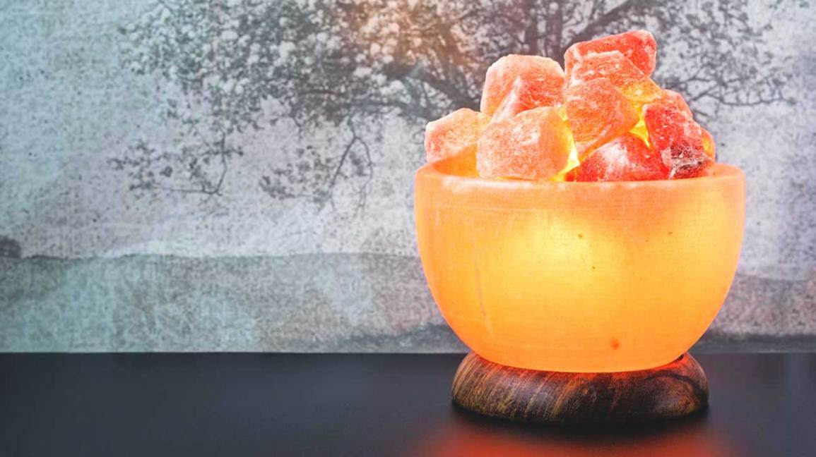 Salt lamps of the Himalayas: benefits and myths