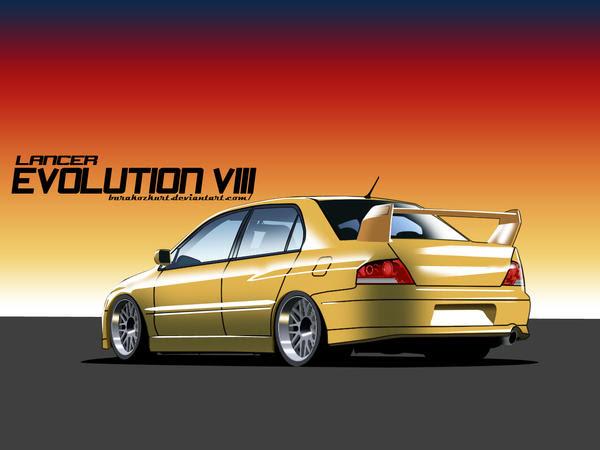 Mitsubishi Lancer Evo VIII by