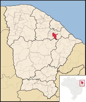 Localização de Aracoiaba
