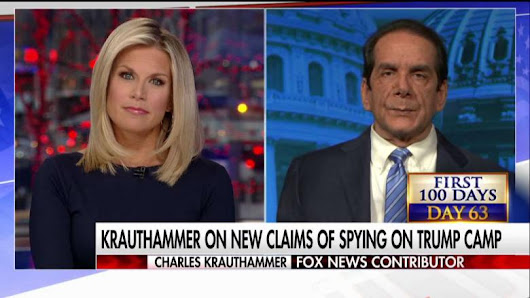 Krauthammer on Nunes Charge: Did They Try to 'Improperly Listen' to Trump Team?