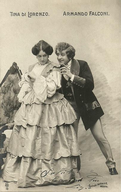 Armando Falconi and Tina Di Lorenzo