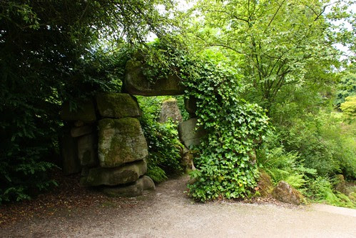Stone Entry to the Rock Garden at Chatsworth