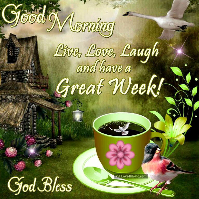 Good Morning God Bless Have A Great Week Pictures Photos And