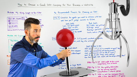 How to Choose a Good SEO Company for Your Business or Website - Whiteboard Friday