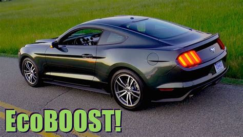 ford mustang ecoboost   mph review highway mpg