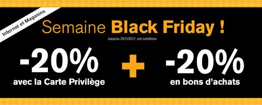 Promotion Aubert : Black Friday