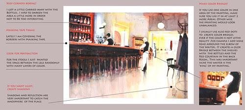 Cafe Einstein, a reflection