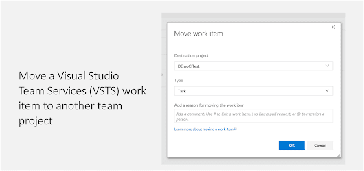 Move a VSTS work item to another team project - Daily .NET Tips