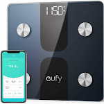 Eufy Smart Scale C1 with Bluetooth, Large LED Display, 12 Measurements, Weight/Body