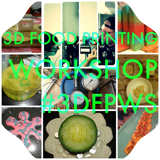 Help us with our 3D Food Printing Workshop! - 3Digital Cooks