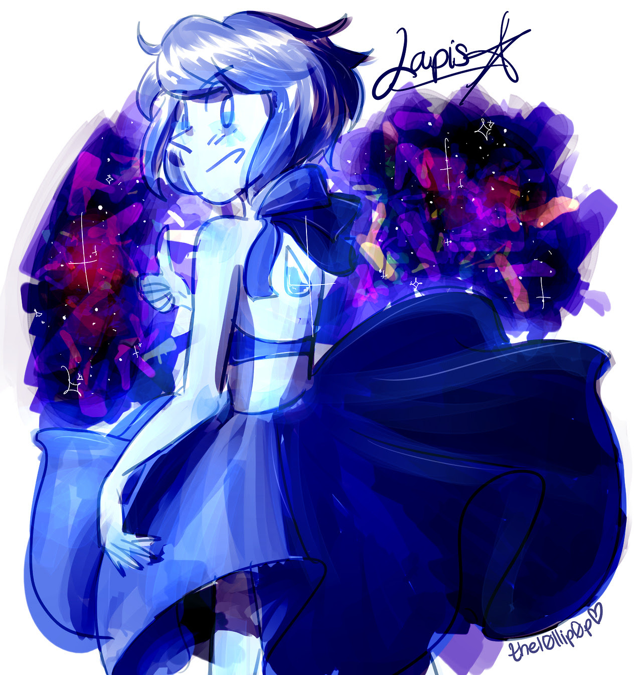 i need me some more confident lapis