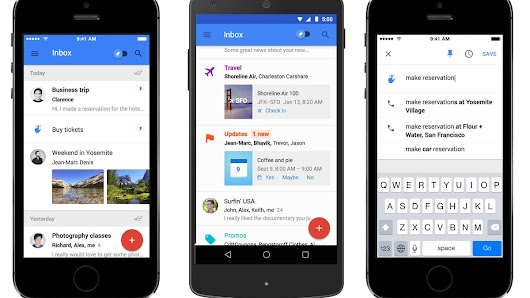 Inbox is a total reinvention of email from Google