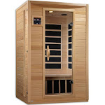 Golden Designs GDI-6202-02 Luxury 2 Person Infrared Carbon Sauna