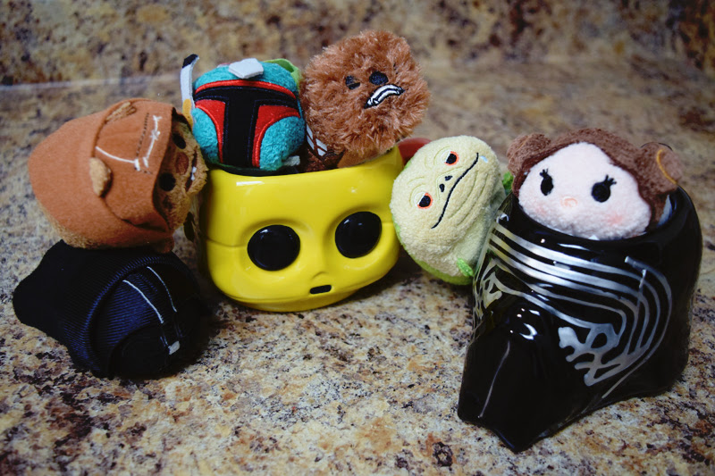 My Star Wars Tsum Tsums | Anakin And His Angel