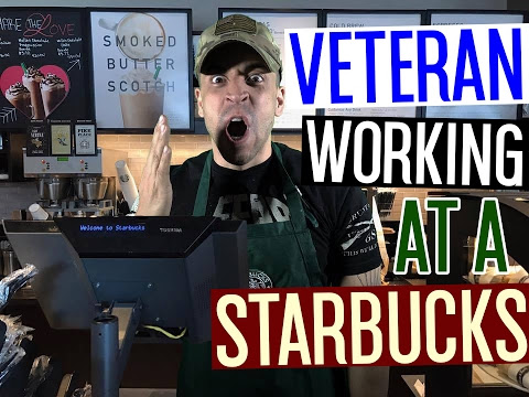 Veteran Working At A Starbucks! - YouTube